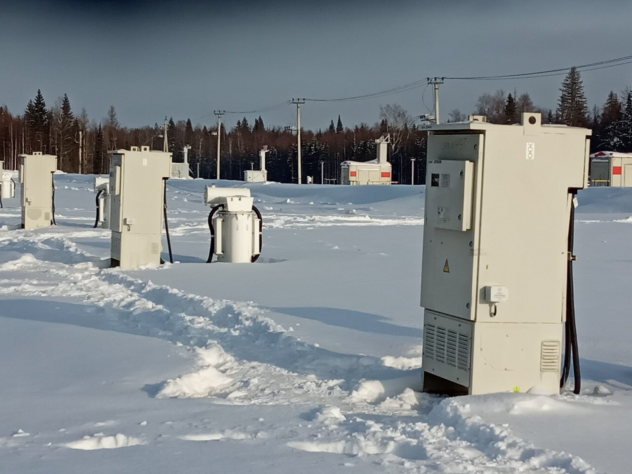 Automation of oil production facilities in Perm region