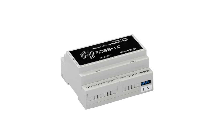 Коммутатор ROSSMA® IIOT-AMS Modbus Utility