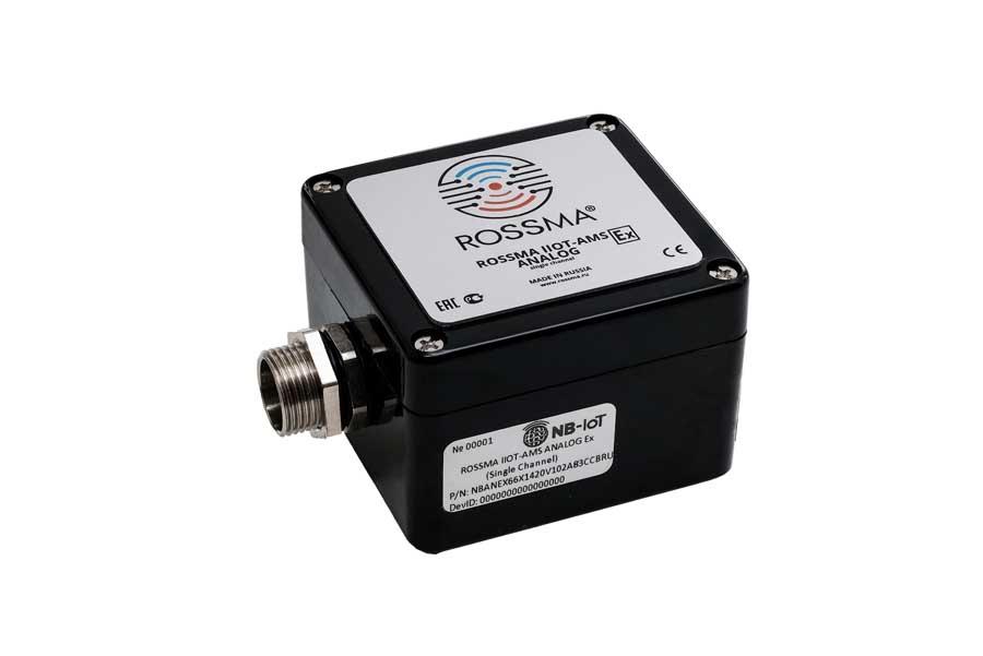 Измеритель-коммутатор ROSSMA® IIOT-AMS Analog