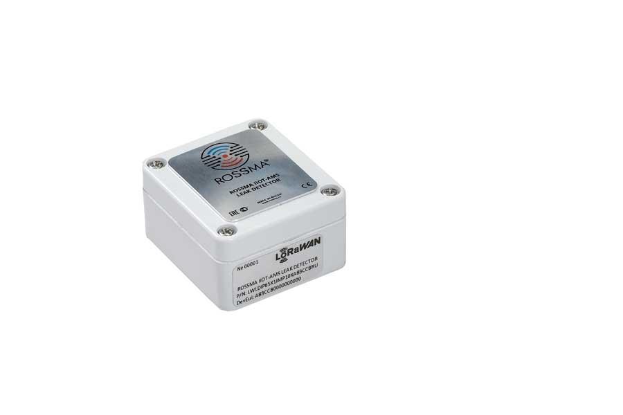 Автономный измеритель-коммутатор ROSSMA® IIOT-AMS Leak Detector (датчик протечки)