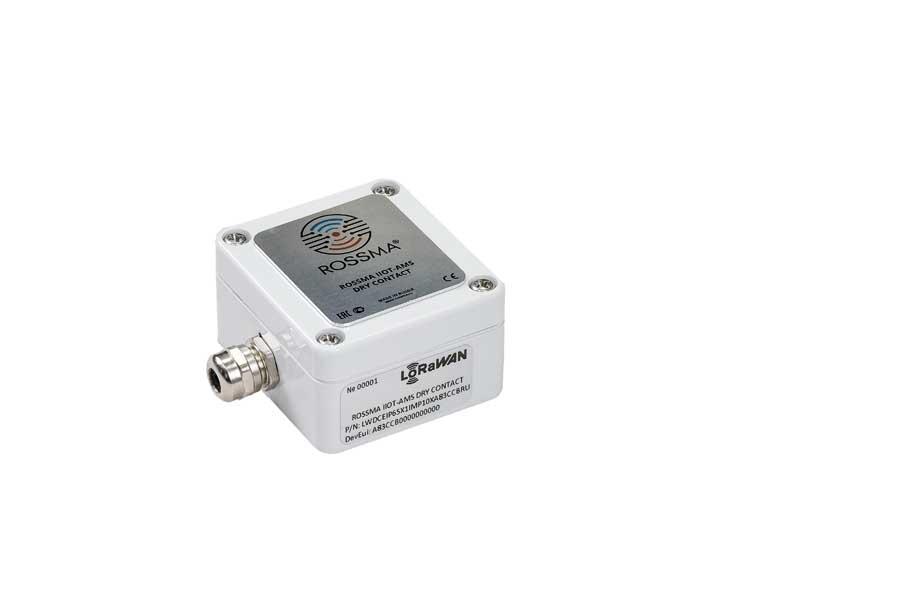 Автономный измеритель-коммутатор ROSSMA® IIOT-AMS Dry Contact