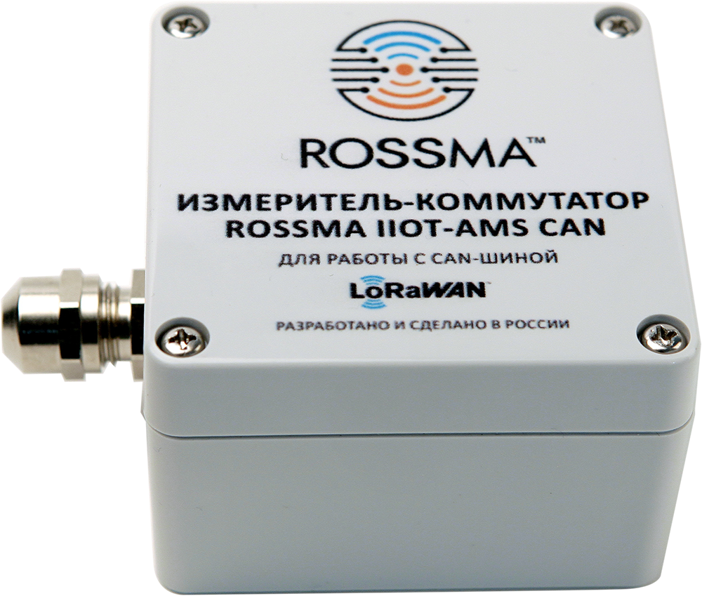ROSSMA® IIOT-AMS Can Measuring and switching device