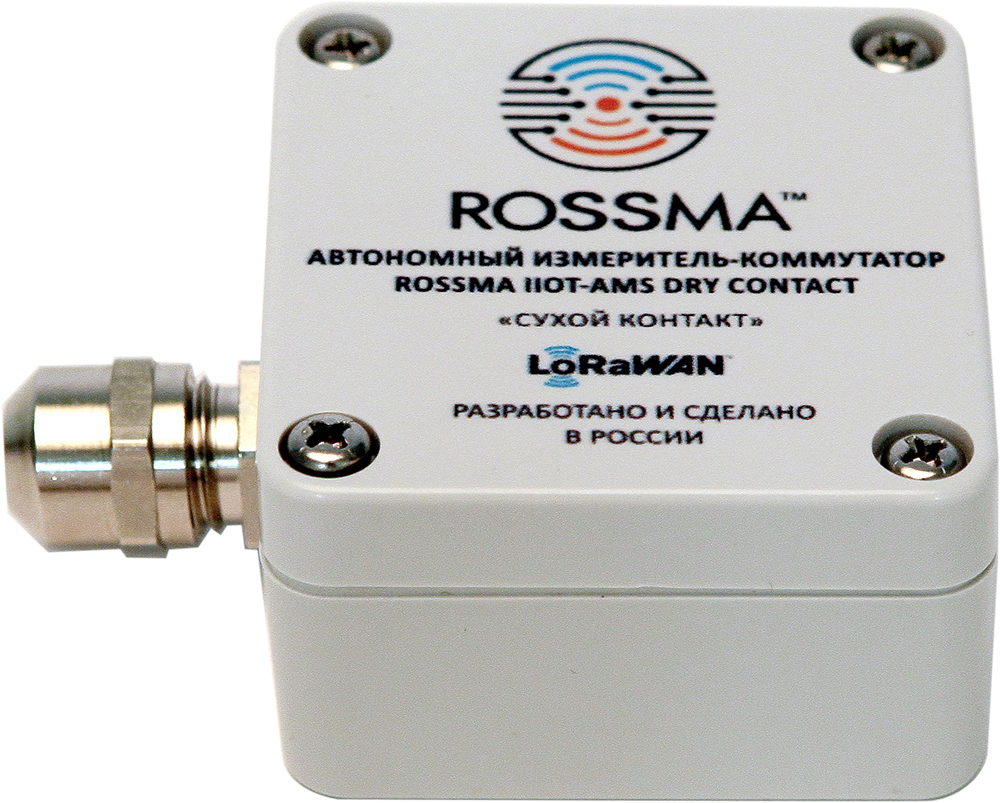 ROSSMA IIOT-AMS Dry Contact Measuring and switching device