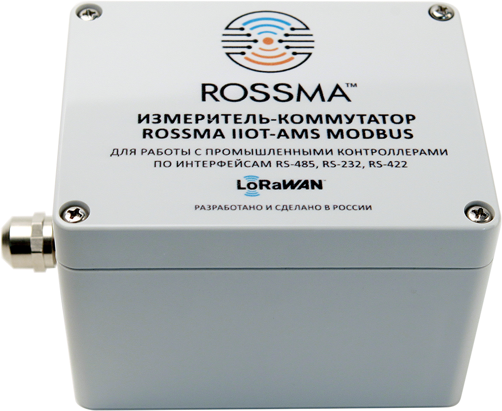 ROSSMA® IIOT-AMS Modbus Measuring and switching dev