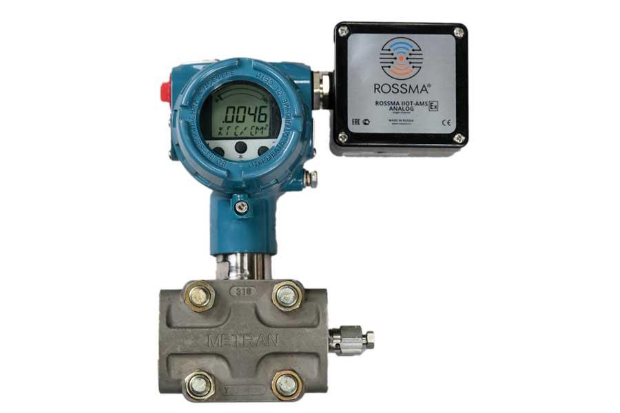 Автономный измеритель-коммутатор ROSSMA® IIOT-AMS ANALOG Ex (Single Channel)