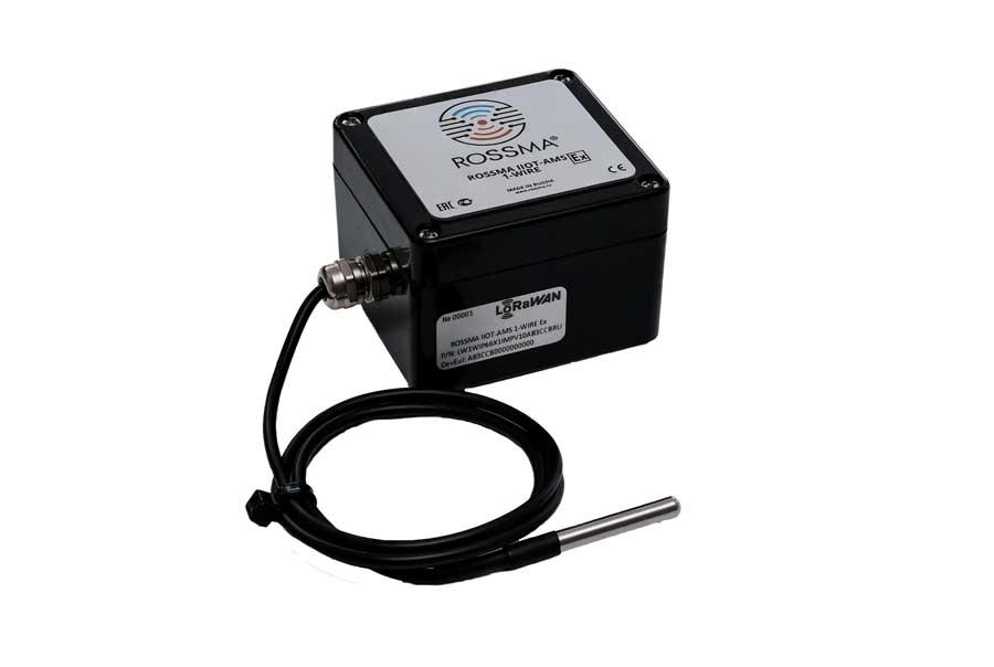 Автономный коммутатор ROSSMA® IIOT-AMS 1-Wire Ex