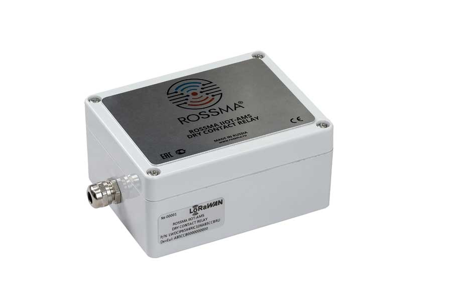 Коммутатор ROSSMA® IIOT-AMS Dry Contact Relay