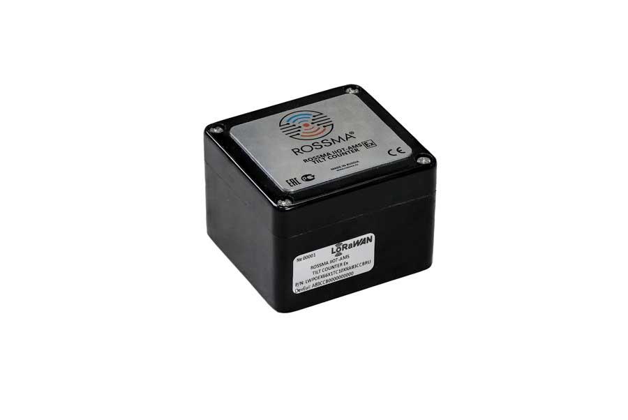 Автономный измеритель-коммутатор ROSSMA® IIOT-AMS TILT COUNTER Ex