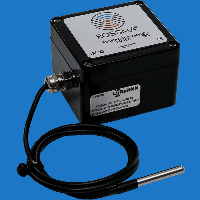 ROSSMA® IIOT-AMS 1-Wire Ex autonomous switching device